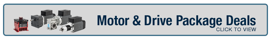 Learn more about AC Motor & Drive Package Deals