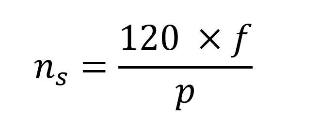 synchronous motor formulas