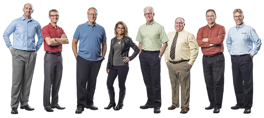 Groschopp's leadership team has a combined 200 years of experience in the motor industry.